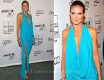 Heidi Klum In Michael Kors - 2nd Annual amfAR Inspiration Gala New York