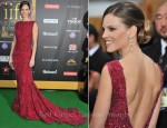 Hilary Swank In Elie Saab Couture - 2011 International Indian Film Academy Awards