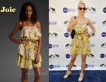 In Jamie King's Closet - Joie Floral Ashanti Dress & Jimmy Choo 'Zen' Booties
