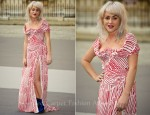 Jamie Winstone In Vivienne Westwood - Eliza Doolittle In House Of Holland – The Royal Academy of Arts' Summer Exhibition Preview Party