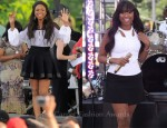 Jennifer Hudson's Performs In Black & White Givenchy