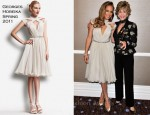 Jennifer Lopez In Georges Hobeika - 20th Anniversary ICON Awards