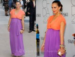 Jessica Alba In Diane von Furstenberg - 2011 CFDA Fashion Awards