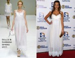 Jessica Alba In Dolce & Gabbana - Covenant House California 2011 Gala And Awards Dinner
