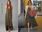 In Jessica Alba's Closet - Lanston Knit Maxi Dress