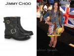 In Hailee Steinfeld's Closet - Jimmy Choo 'Youth' Biker Boots