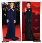 Who Wore Roberto Cavalli Better? Bar Refaeli or Zhang Jingchu