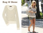 In Julianne Hough's Closet - Rag & Bone Exeter Crew Neck Sweater
