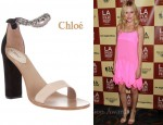 In Kate Bosworth's Closet - Chloé Embellished Sandals