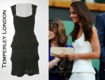 Catherine, Duchess of Cambridge In Temperley London - 2011 Wimbledon Championships