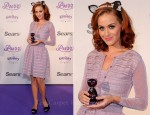 "Katy Perry In Christian Dior - ""Purr"" Sears Toronto Fragrance Launch"