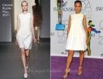 Kerry Washington In Calvin Klein - 2011 CFDA Fashion Awards