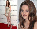 Kristen Stewart In Balmain - 2011 Glamour Women of the Year Awards