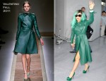 Lady GaGa In Valentino - Narita International Airport