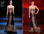 Li Bing Bing In Naeem Khan - 2011 Shanghai International Film Festival Opening Ceremony