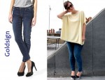In Lily Allen's Closet - Goldsign Scene Skinny Crop Jeans