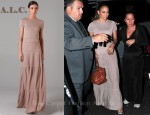 In Jennifer Lopez' Closet - A.L.C. Knit Maxi Dress