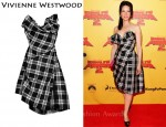 In Lucy Liu's Closet - Vivienne Westwood Gold Label Trinket Silk Corset Dress