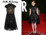 In Mia Wasikowska's Closet - Stella McCartney Pamela Embroidered Organza Dress