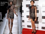 Naomie Harris In Valentino - 2011 Keep A Child Alive Black Ball
