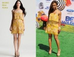 In Elise Neal's Closet - BCBG Max Azria Strapless Embroidered Dress
