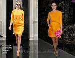 "Olivia Palermo In Victoria Beckham - ""The Ledge"" New York Screening"