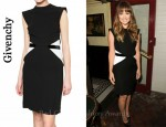 In Olivia Wilde's Closet - Givenchy Bicolour Dress