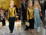 Mary-Kate Olsen In The Row & Chanel: Ashley Olsen In The Row - 2011 CFDA Fashion Awards