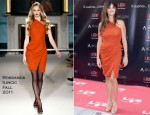 Penelope Cruz In Roksanda Ilincic - Walk of Fame In Spain Photocall