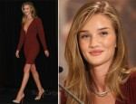 "Rosie Huntington-Whiteley In Stella McCartney - ""Transformers: Dark Of The Moon"" Berlin Press Conference"