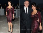 "Salma Hayek In Gucci - ""Il Mondo Vi Appartiene"" Dinner"