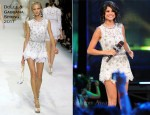 Selena Gomez In Dolce & Gabbana & Dsquared² - 2011 MuchMusic Video Awards