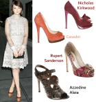 Celebrity Shoe Swap: Carey Mulligan