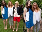 Liv Tyler Naomi Watts & Bono Front Row @ Stella McCartney Resort 2012 Presentation