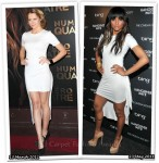 Who Wore Cushnie et Ochs Better? Teresa Palmer or Ciara