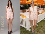 In Whitney Port's Closet - Thakoon Addition Twist Front Romper