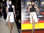 Patty Hou In YSL - Music Golden Melody Award Announcement