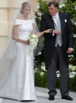 Princess Charlene of Monaco Weds In Armani Privé