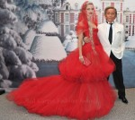 Natalia Vodianova In Valentino Couture - The White Fairy Tale Love Ball