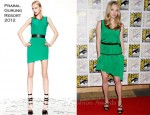 Amanda Seyfried In Prabal Gurung - 20th Century Fox Panel