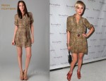 In Ashlee Simpson's Closet - Mara Hoffman Vent Safari Dress