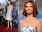 "Calista Flockhart In Emporio Armani - ""Cowboys & Aliens"" World Premiere"