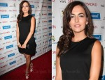 Camilla Belle In Dolce & Gabbana - Real Madrid Meet & Greet