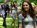 Catherine, Duchess of Cambridge In Catherine Walker - Tree Planting Ceremony