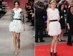 "Clemence Poesy In Nina Ricci - ""Harry Potter And The Deathly Hallows Part 2"" World Premiere"