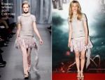 "Clemence Poesy In Chanel Couture - ""Harry Potter And The Deathly Hallows Part 2"" Paris Premiere"
