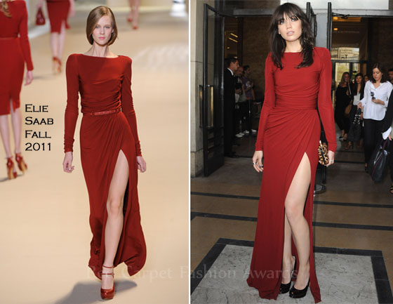 4cac75918aa Daisy Lowe In Elie Saab   Elie Saab Couture - Red Carpet Fashion Awards