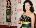 "Dita on Teese In Vintage - ""The Cointreau MargaDita"" Dallas Launch"