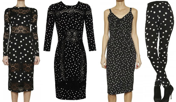 5bd124dd You can purchase many of Dolce & Gabbana's Fall 2011 signature star ...