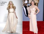Elisabeth Moss In J. Mendel - BAFTA Brits To Watch Event